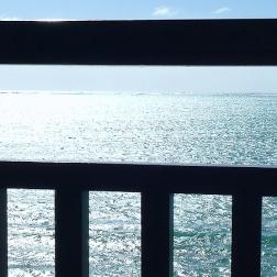 Balcony blue