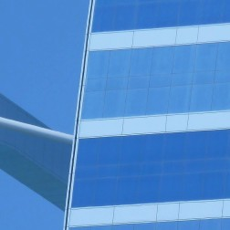 Burj Al Arab in blue