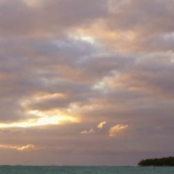 Dawn over Ilot Mangenie