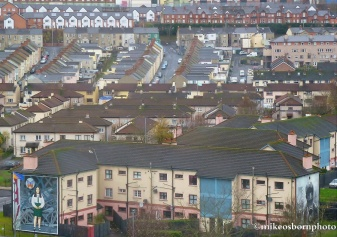 Bogside from the city walls