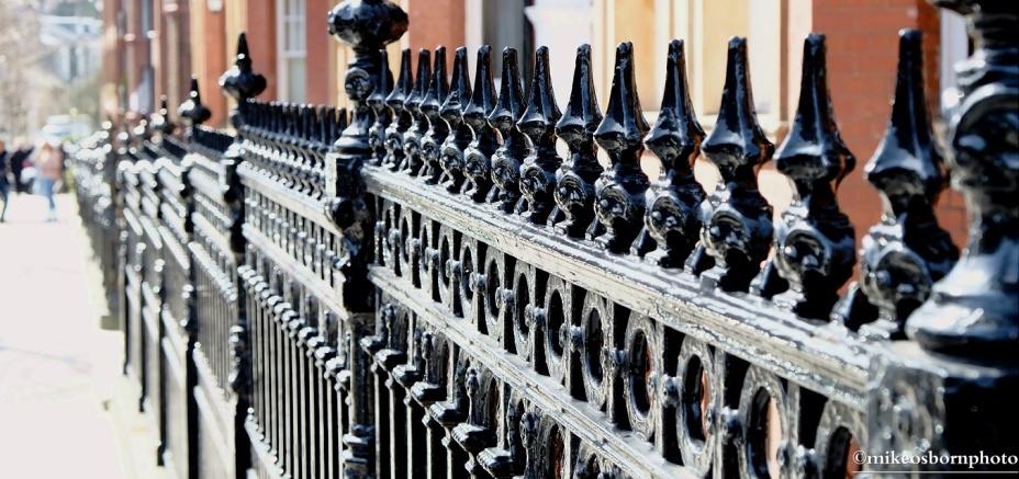Oakwood railings