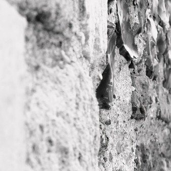 The church walls