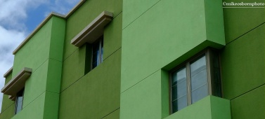 Apartments in green