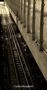 Eastbound tracks