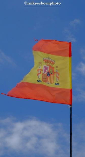 Weather-worn flag