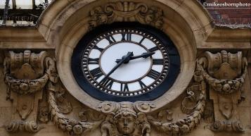 Victorian timepiece