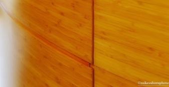 Wood fascia