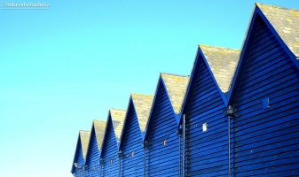 Whitstable harbour rooftops