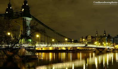 Hammersmith by night