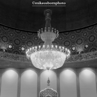 Mosque dome (monochrome)
