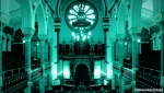 Synagogue in blue