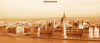 Hungary's splendid parliament building, set on the Danube