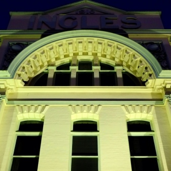 Launceston's ornate Ingles building in the city's central shopping area