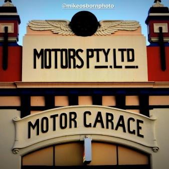 This motor garage in Launceston has long gone - it now has a KFC beneath it