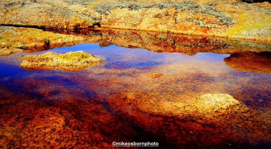 Rusted lake