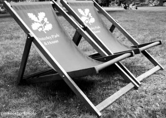 Deckchairs at Osterley