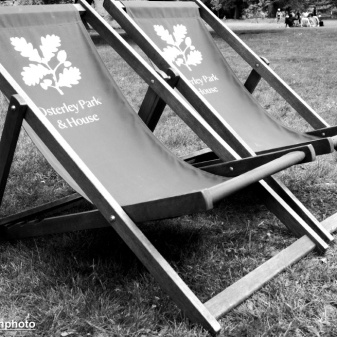 Deckchairs at Osterley