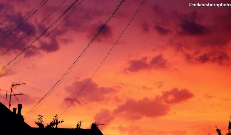 Dorville at sundown