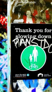 Thank you for slowing down