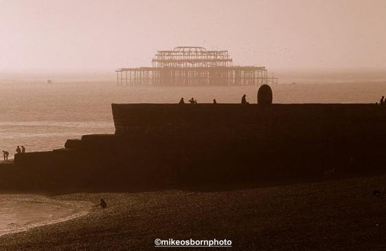 Towards West Pier