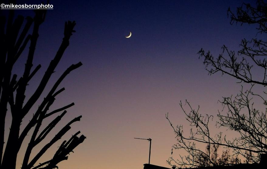 Moon over Shepherds Bush