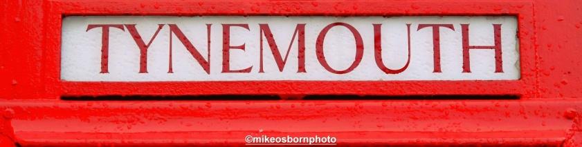 Tynemouth phone box