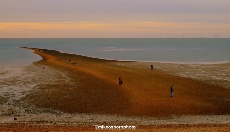 Low tide land