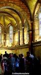 The chapel faithful