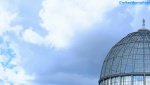 Blue sky dome