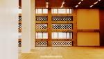 Brick chequered room