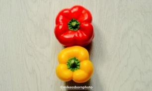 Red pepper, yellow pepper