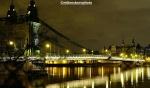 Green and graceful Hammersmith Bridge