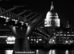 St Paul's Cathedral and Millennium Bridge