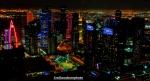 Lights over Doha