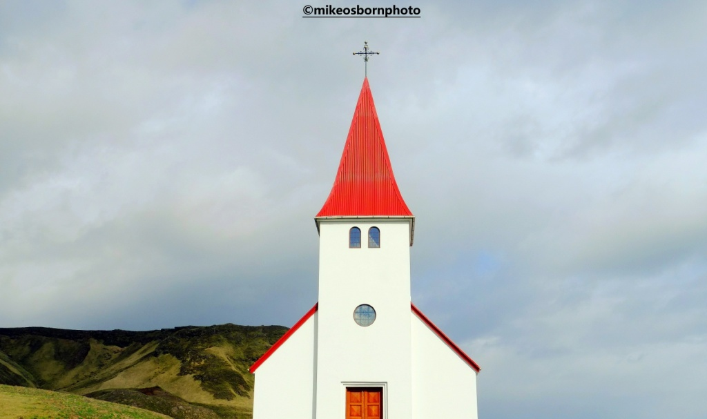 Icelandic church spire