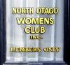 North Otago Womens Club sign, Oamaru, New Zealand