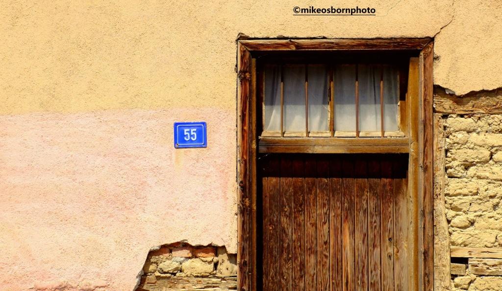 Old door in Ohrid, North Macedonia