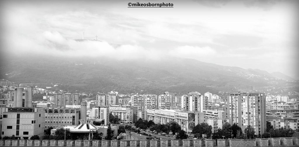 View of Skopje, North Macedonia