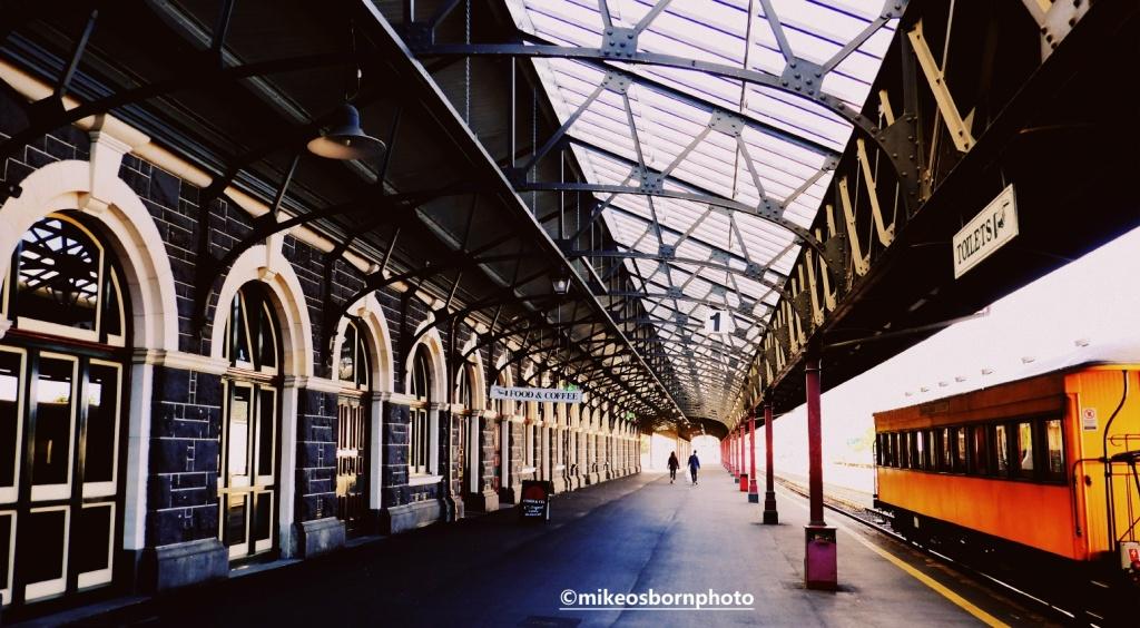 Old railway station, Dunedin, New Zealand