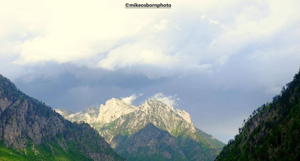 Mountain view in Valbona, Albania