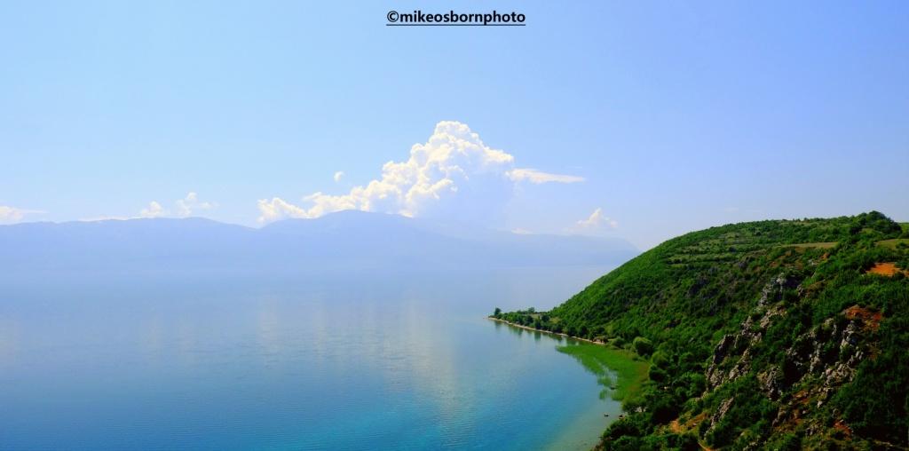 Shores of Lake Ohrid, Albania