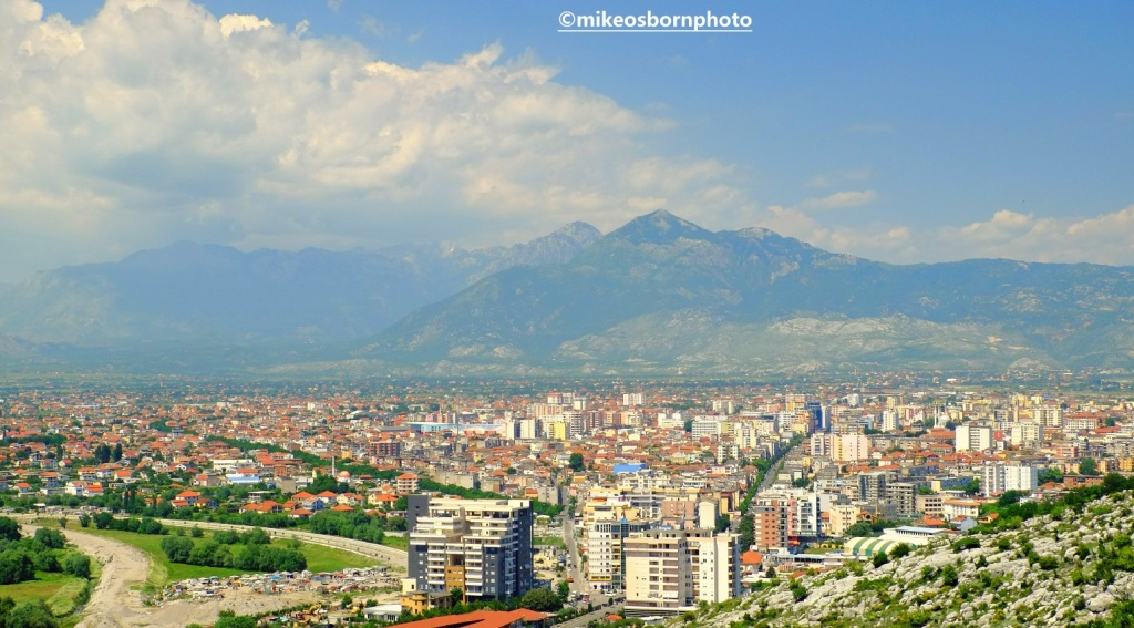 View of Shkodër, Albania