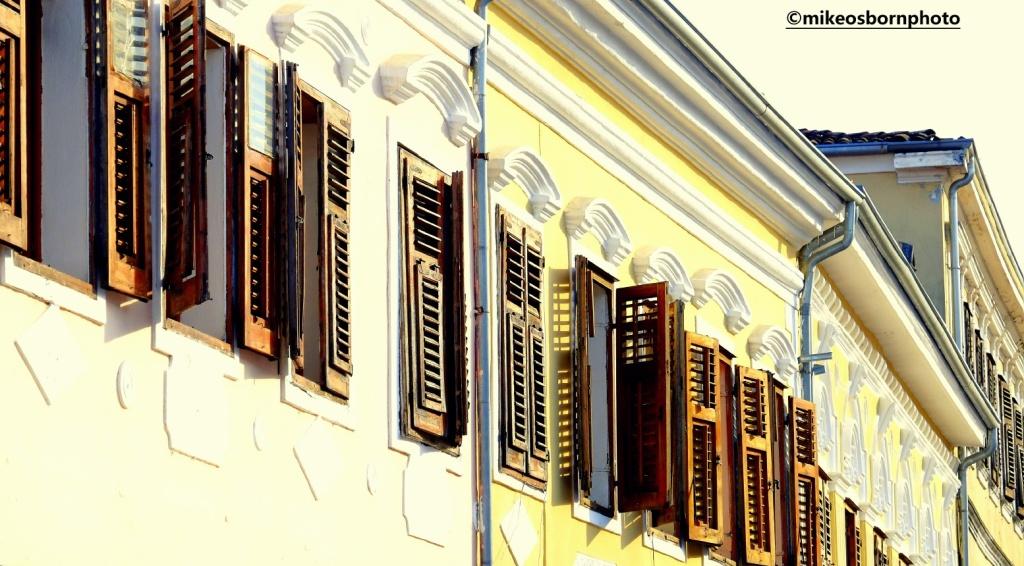 Old buildings in Shkodër, Albania
