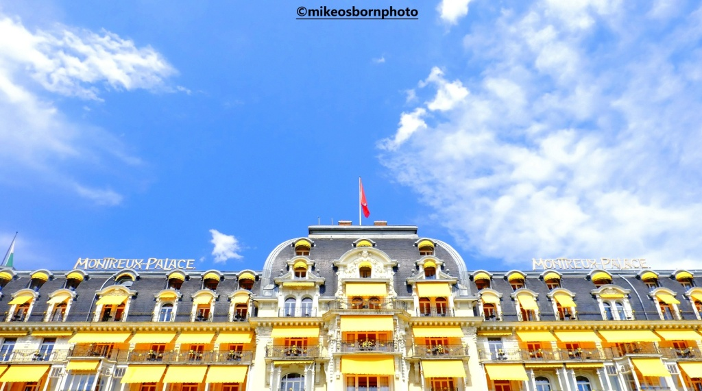 Montreux Palace hotel, Switzerland