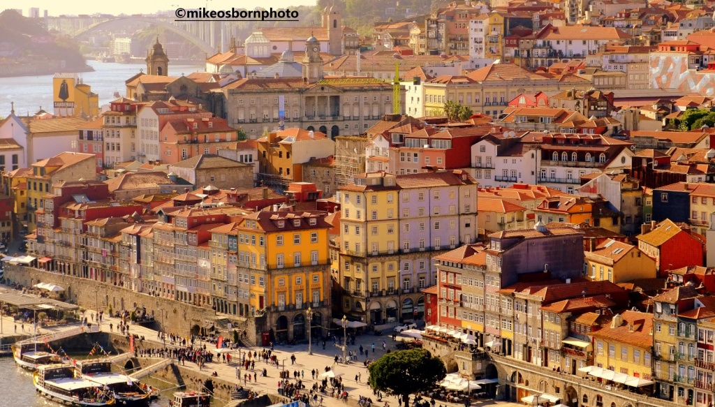 Rooftop view over Porto, Portugal