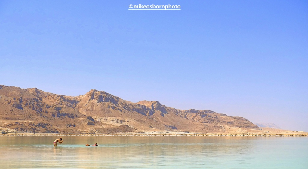 Landscape at Dead Sea
