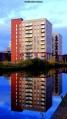 Pomona Wharf buildings, Manchester