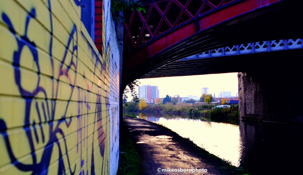 Bridgewater Canal towpath, Manchester