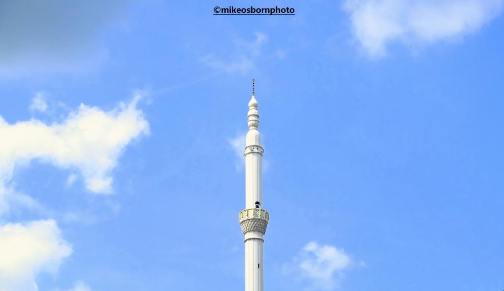 Minaret in Rahovec, Kosovo