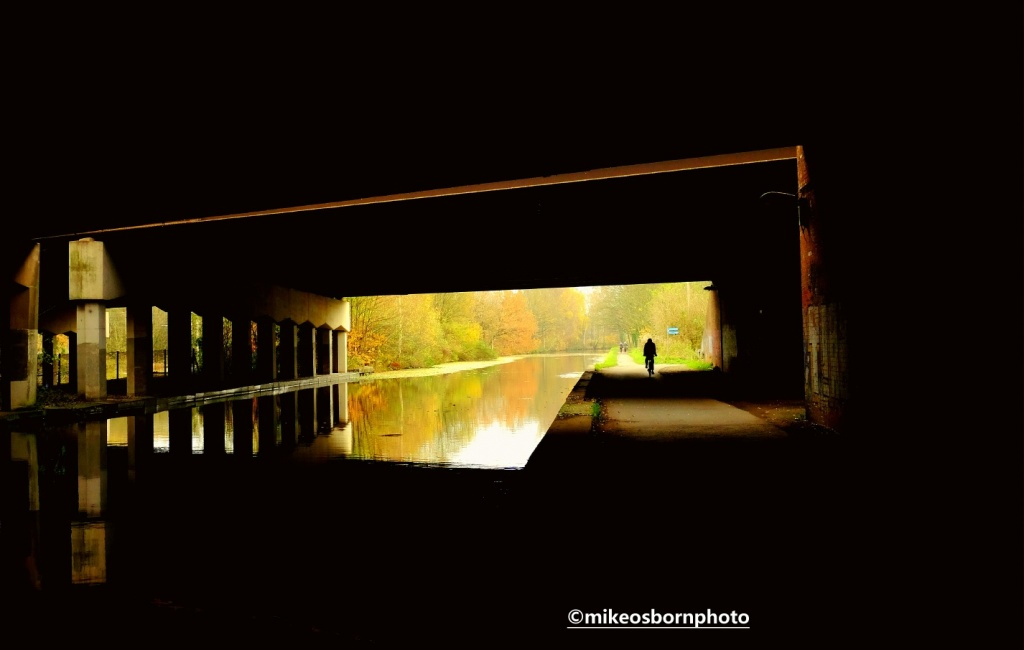 Bridgewater Canal underpass at Sale, Manchester